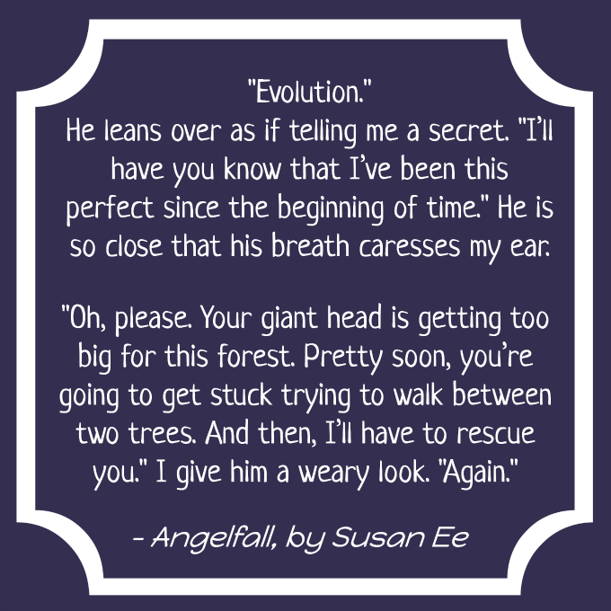 Angelfall by Susan Ee quote Journey Through Fiction