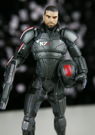 Big Fish Toys Mass Effect 3 Shepard Action Figure Series 1