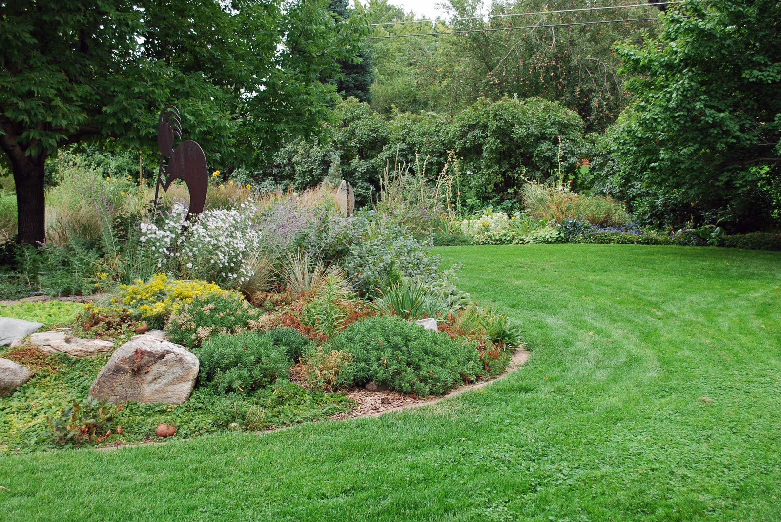 The art garden landscape design focus low maintenance for Low maintenance garden design pictures