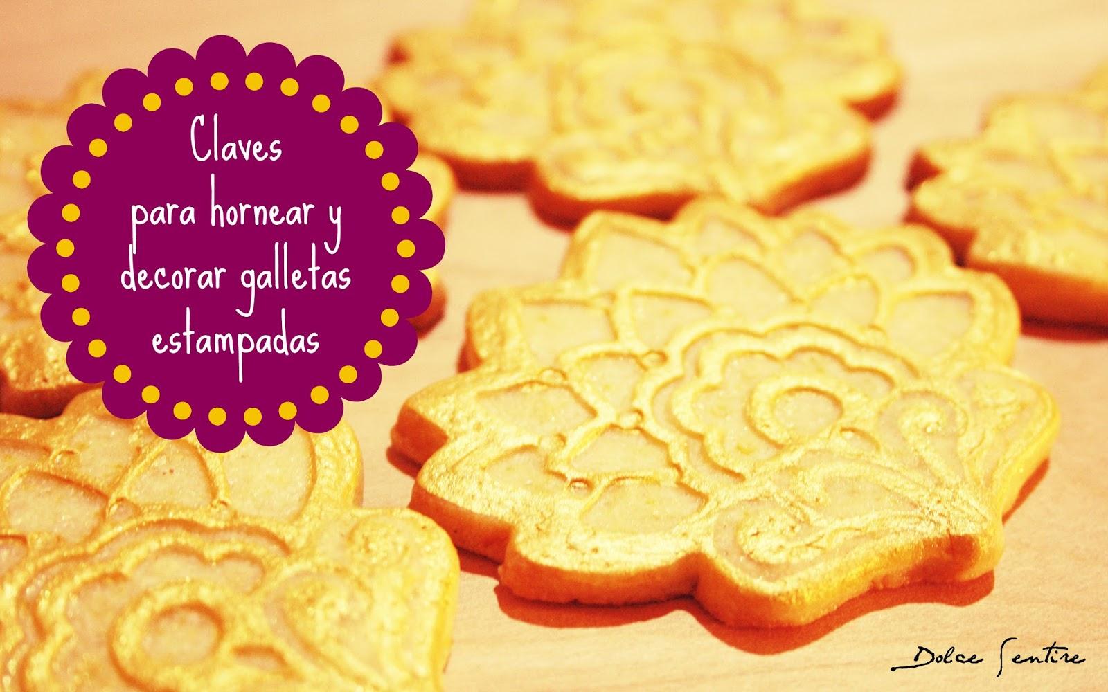 Claves para hornear y decorar galletas estampadas {Video Tutorial}