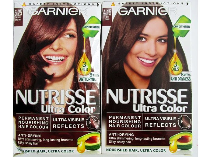 to find with packet hair dyes was that they totally dried my hair out stripping all the goodness from it and leaving it feeling a bit frazzled garnier - Colores Garnier