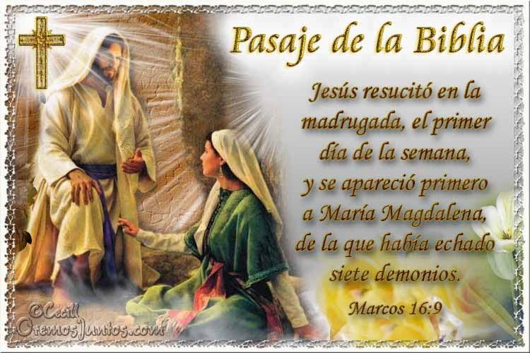 Vidas Santas: Santo Evangelio según san Marcos 16:9