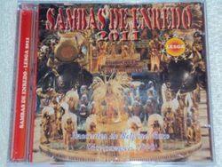 CD dos Sambas de Enredo das Escola do rio de Janeiro do Grupo Especial