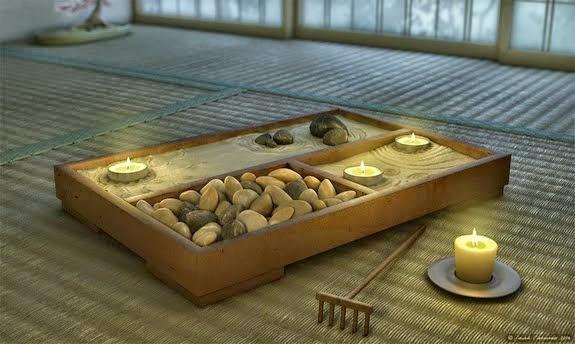 El poder de las piedras preciosas marzo 2015 - Jardines zen miniatura ...