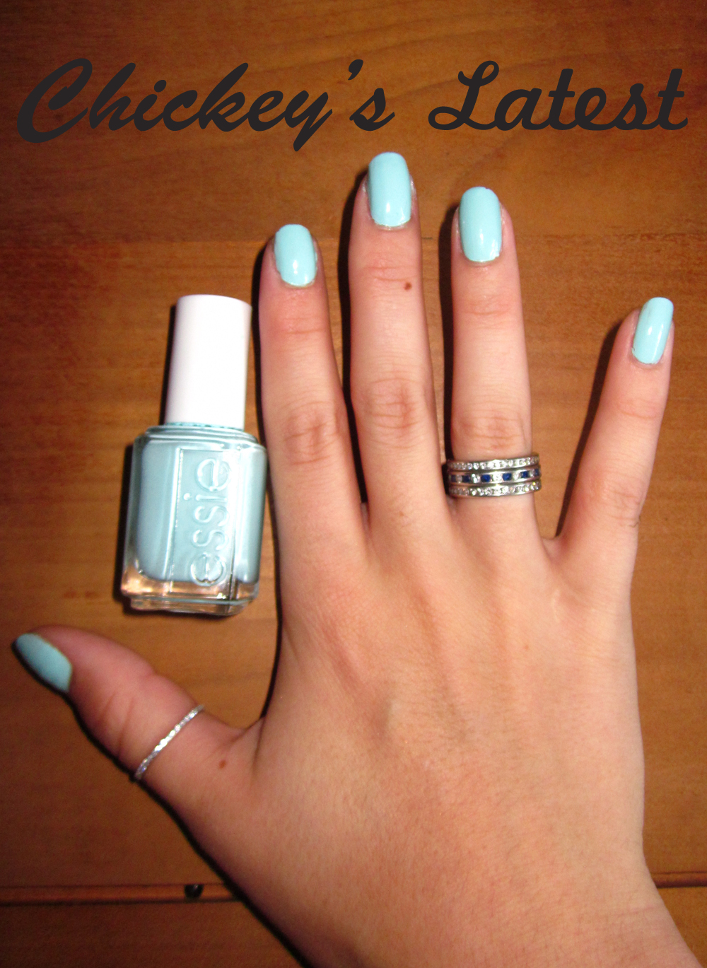 Chickey\'s Latest: Nail Polish: Essie Mint Candy Apple