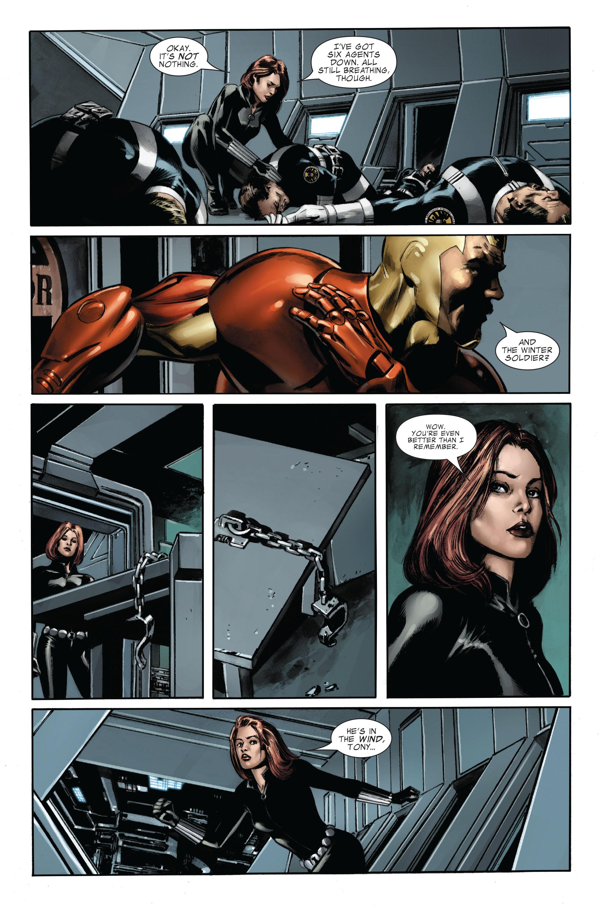 Captain America (2005) Issue #33 #33 - English 9