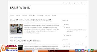 Nulis Web Id Blog Pintar Belajar SEO