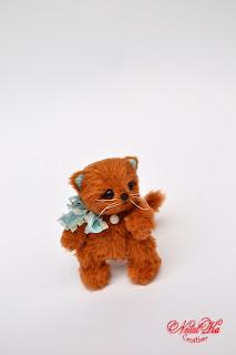 Täddybär Katze handgemacht von NatalKa Creations