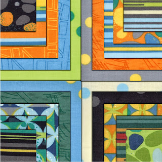 Moda BARCELONA Quilt Fabric by Brigitte Heitland of Zen Chic