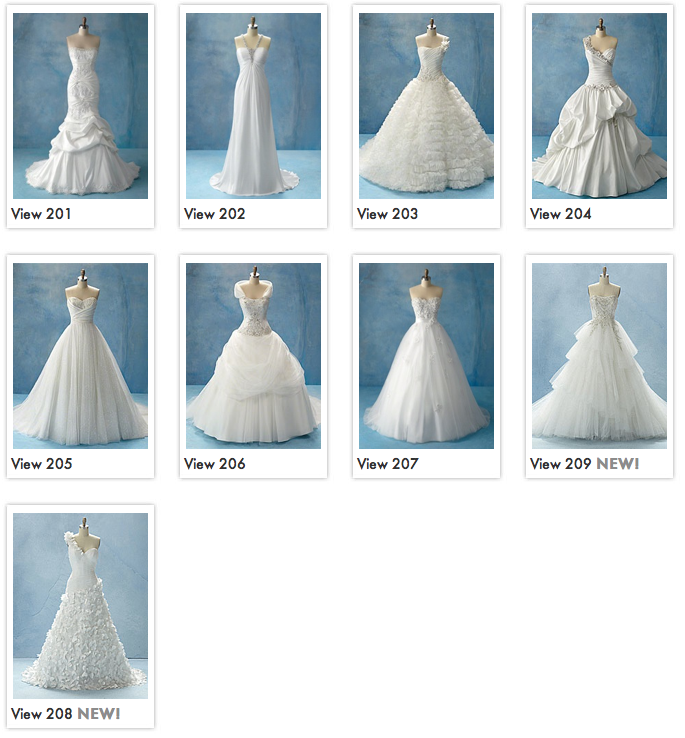 Kathryn Church Designs Disney Bridal Gowns and Rings