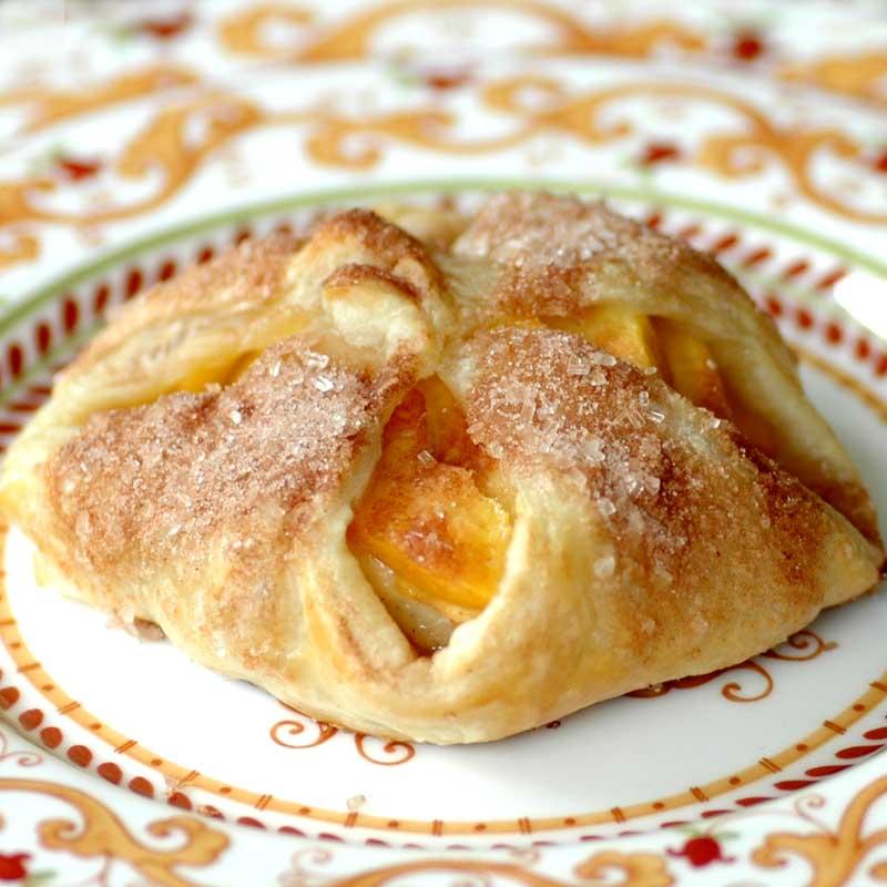 Fresh Peach Pastry