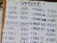 Harga HP Samsung Galaxy & Tablet di KJ Phone Terbaru