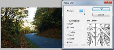 cara membuat efek rol pada foto dengan photoshop