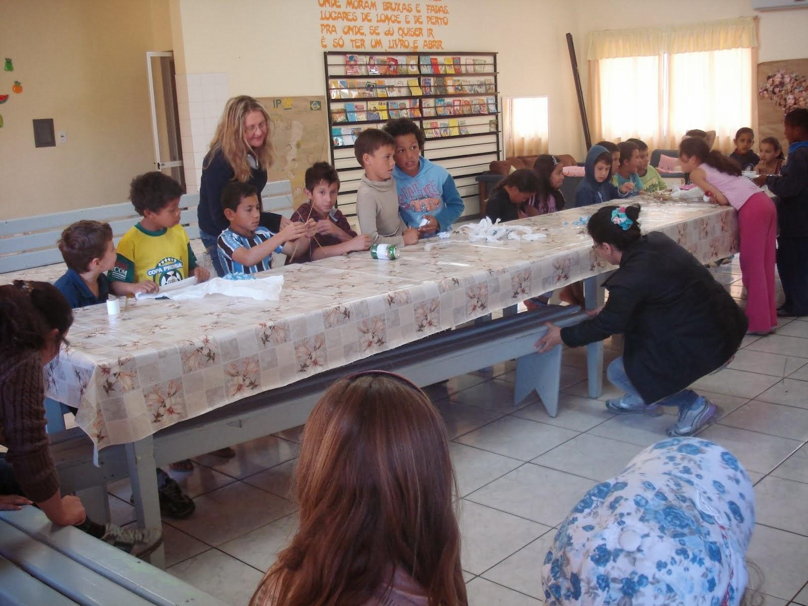 Integração das escola José Veronese, La Salle e Emma