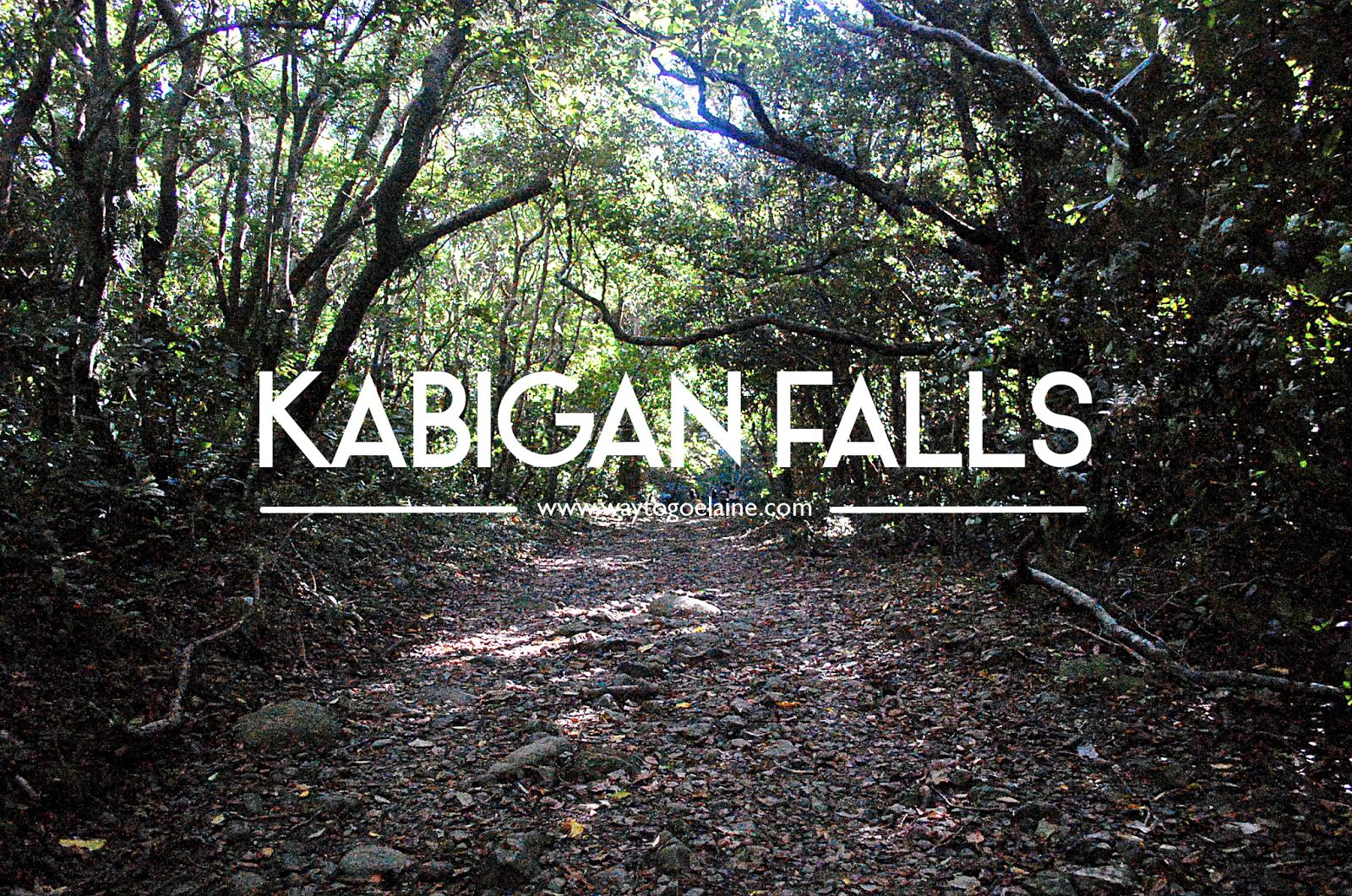 Kabigan Falls - waytogoelaine.com
