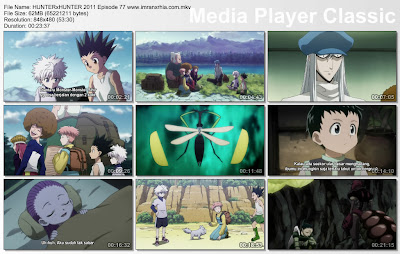 "Download Film / Anime Hunter x Hunter 2011 Episode 77 ""Gelisah dan Penampakan"" Bahasa Indonesia"