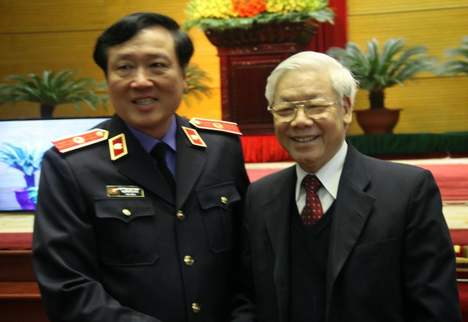 Tổng Bí thư Nguyễn Phú Trọng chỉ đạo Viện KSND Tối cao: Tay đã nhúng chàm thì không thể chống tham nhũng!