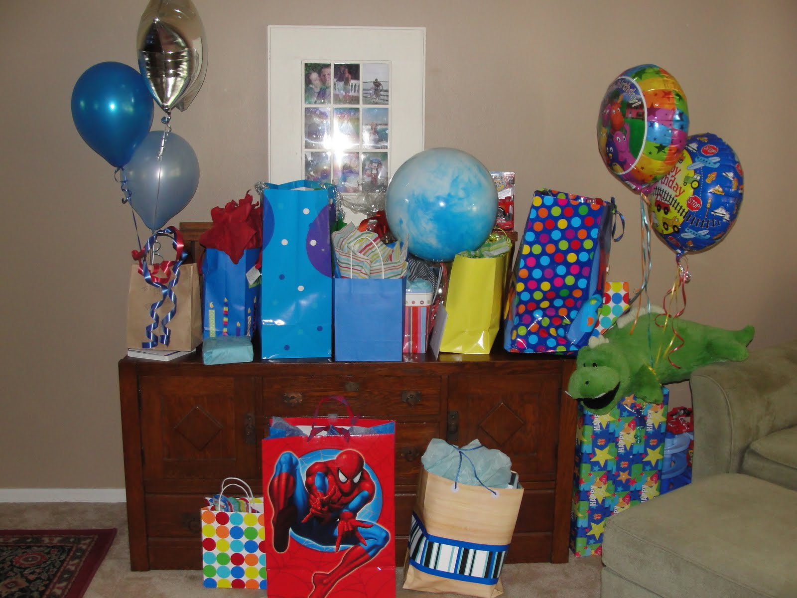 the hicks family blues clues birthday party