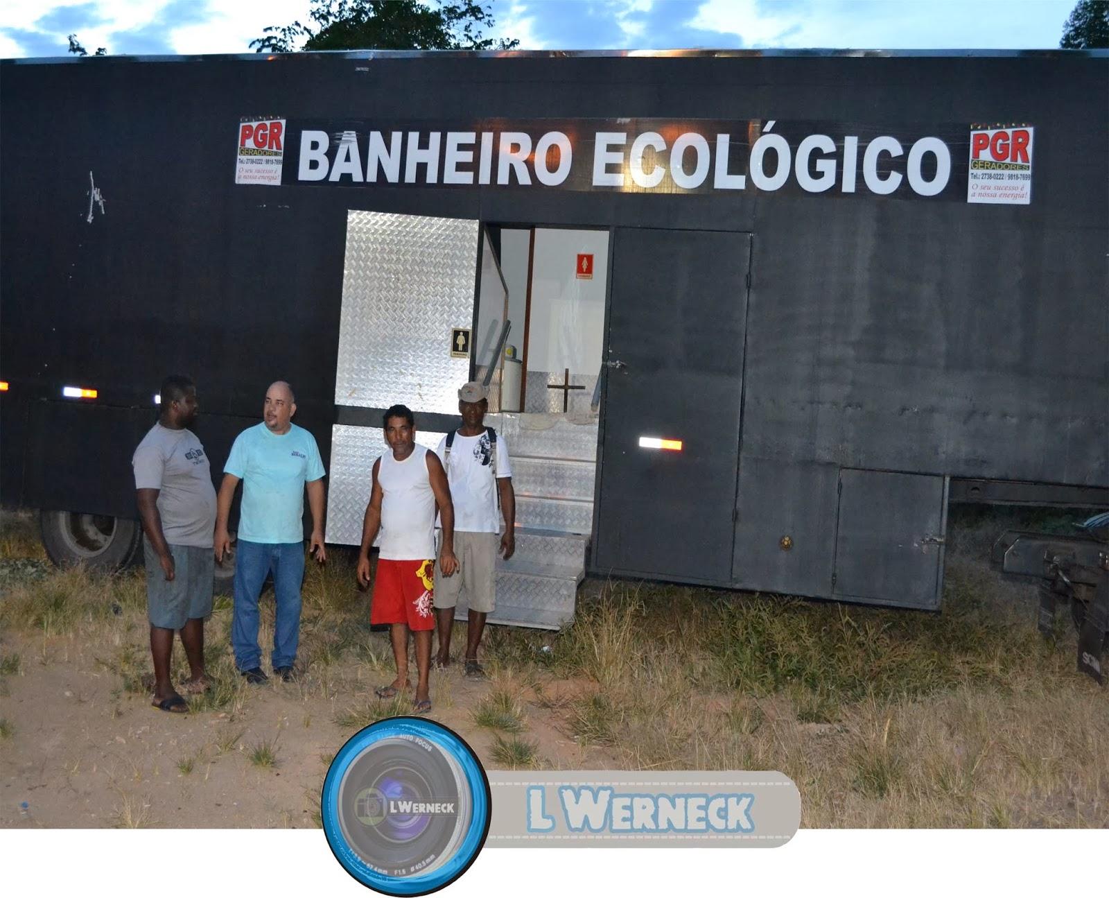 Banheiro Ecológico para Santo Eduardo para atender o projeto Verão #227AA9 1600 1295