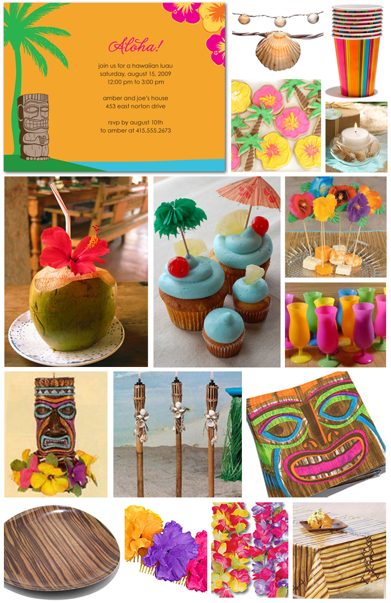 Luau Table Decoration Ideas