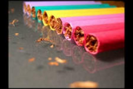 renkli sigara rainbow colored cigarette