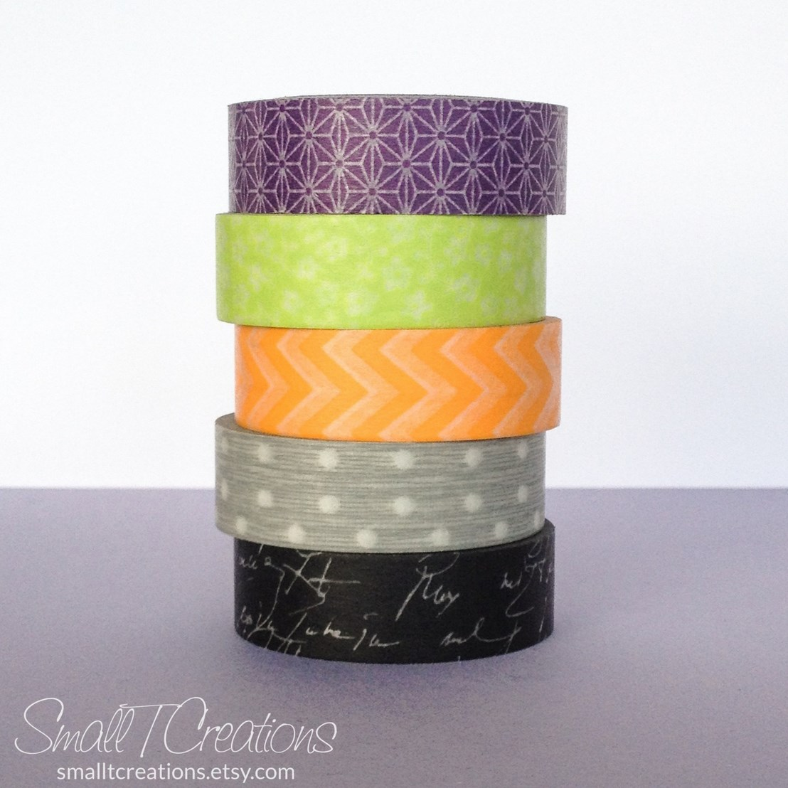 Halloween Washi Tape Set by Small T Creations on Etsy https://www.etsy.com/listing/207502328/halloween-washi-tape-set-masking-tape?ref=shop_home_active_4