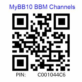 MyBB10 BBM Channels