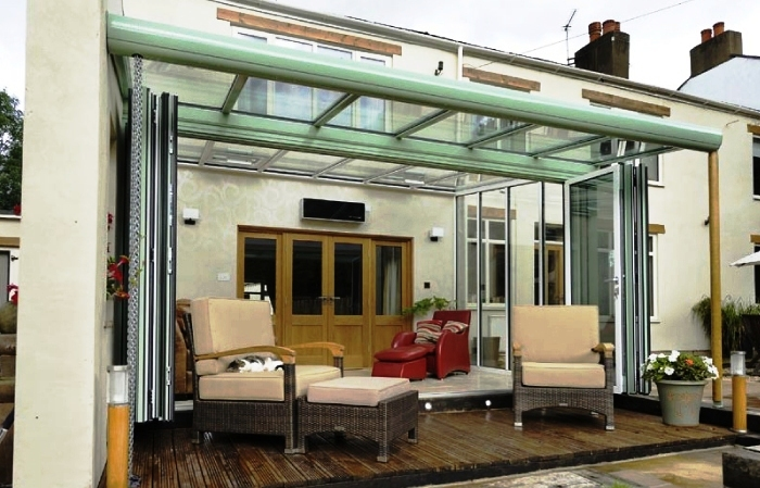 Sliding Door to Veranda Extension 700 x 449