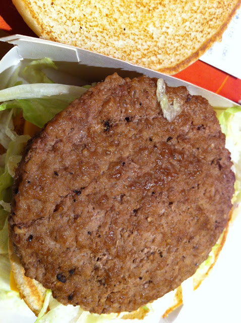 McDonald's hamburger patty