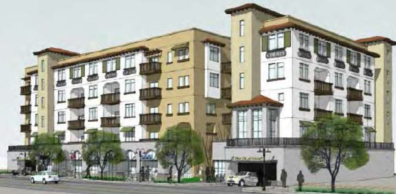 Building Los Angeles Affordable Housing Planned For Crenshaw Boulevard