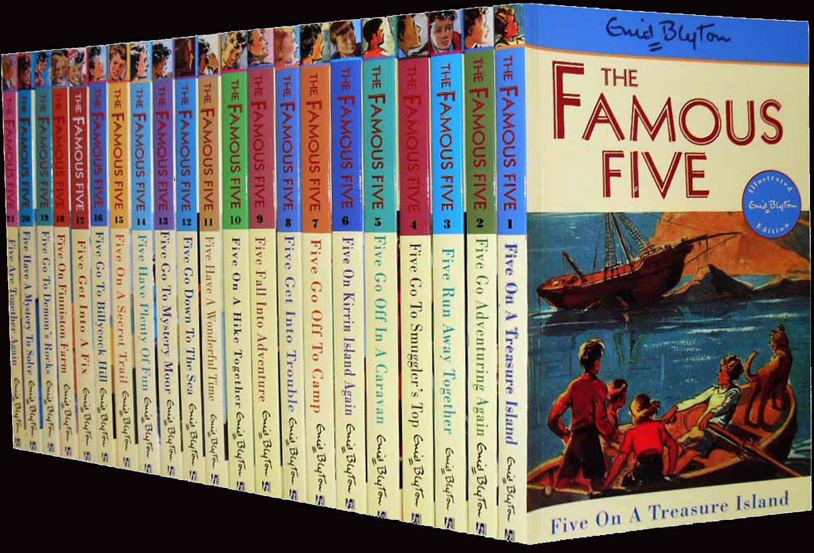 Image result for PICTURES OF NEW FAMOUS FIVE BOOKS
