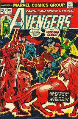 Avengers #112, the Lion-God lives