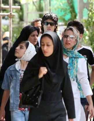 Fantastic Iranian Women Protest Lax Enforcement Of Islamic Dress Code Photo