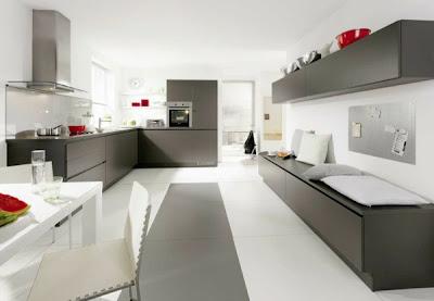 foto de cocina gris