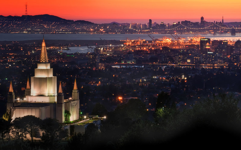Oakland temple and...