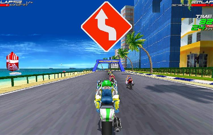 Moto Racer PC Game image