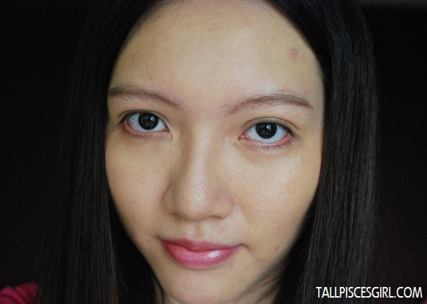 After applying Hada Labo Air BB Cream