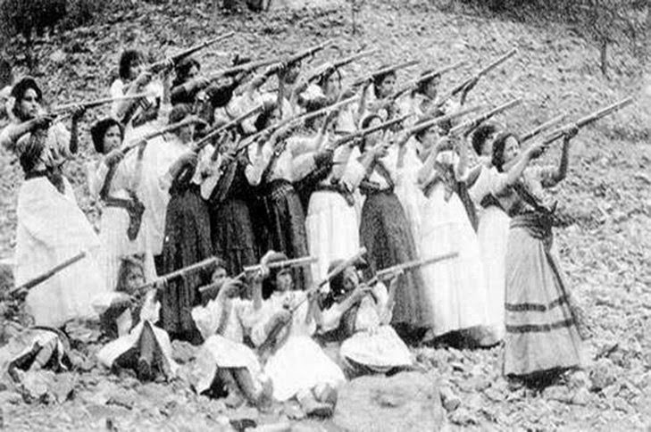 10 Female Revolutionaries That You Probably Didn't Learn About In History class - Petra Herrera