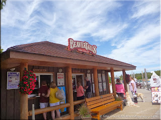 Beavertails in Tobermory, Ontario