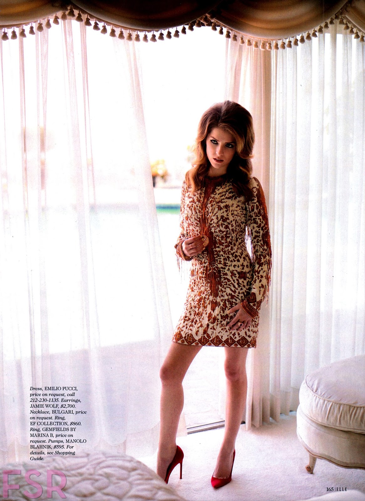 ... - The Charmer Pages : Anna Kendrick For Elle Magazine, July 2014