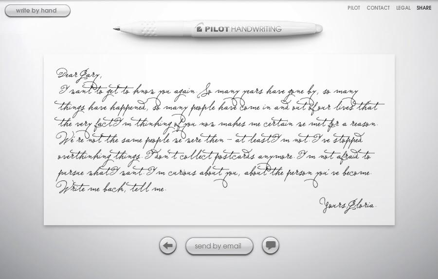 Handwriting Website