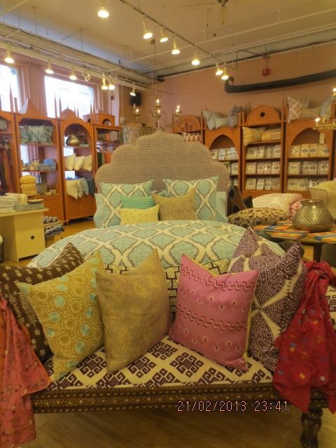 back on festive road john robshaw inspired bedroom from world market