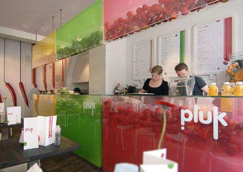Design context pluk healthy restaurant