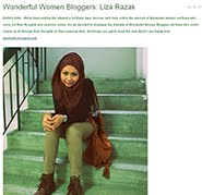 Featured In Wonderful Women Bloggers by friendlyfashion.my