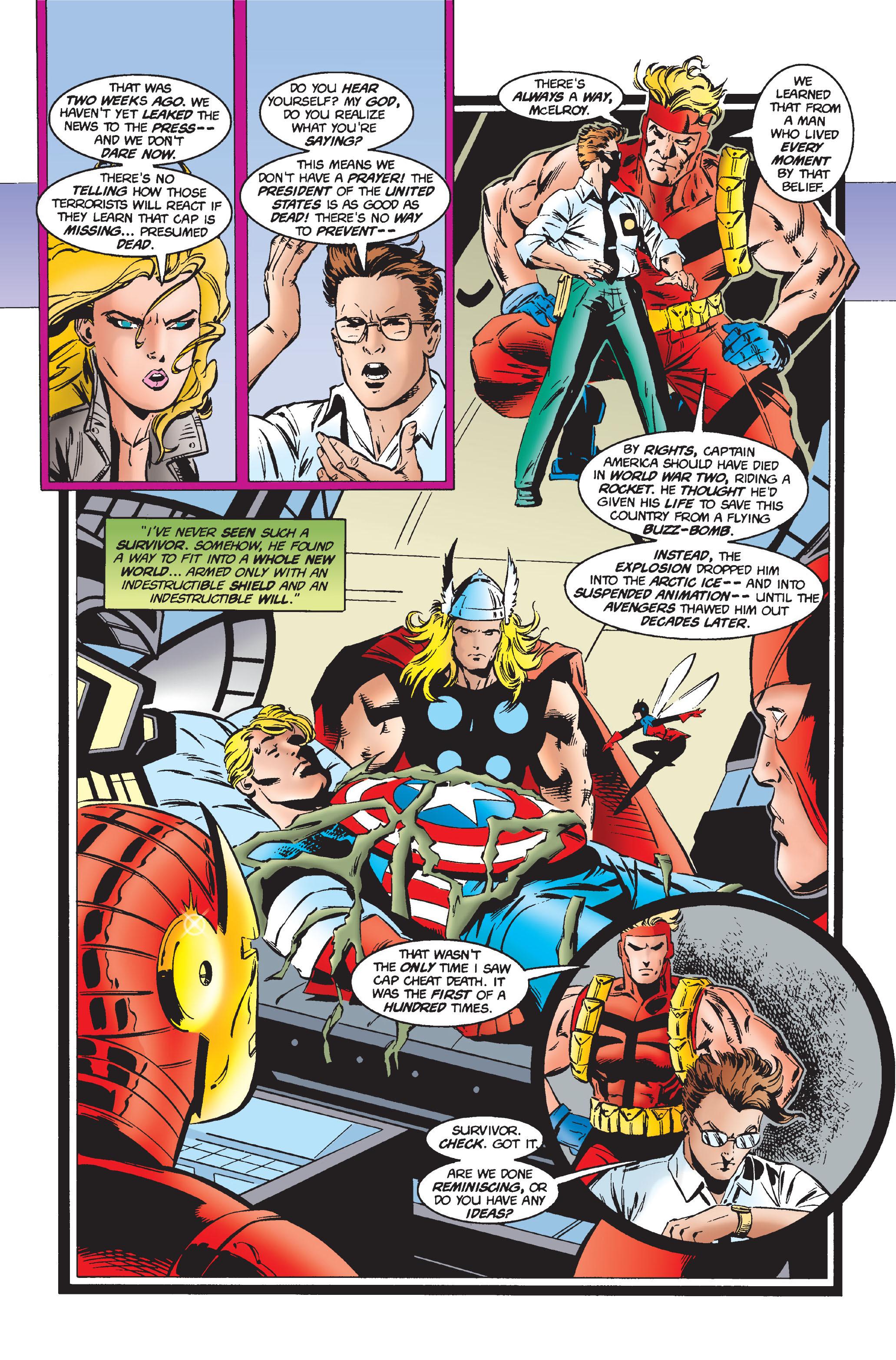 Captain America (1968) Issue #444 #398 - English 8