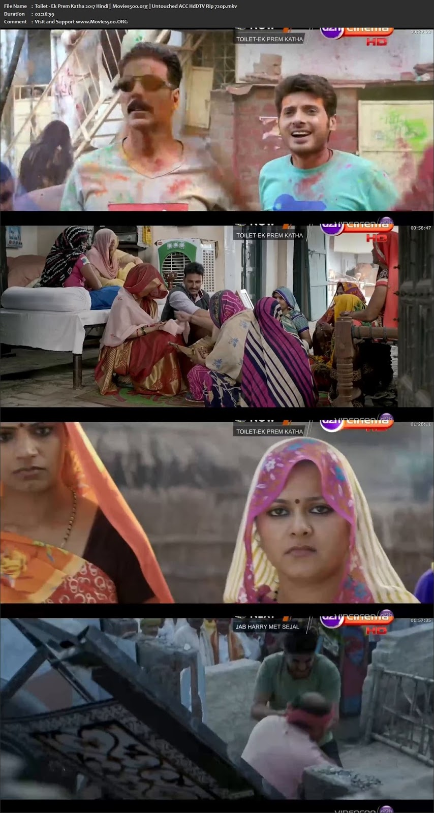 Toilet Ek Prem Katha 2017 Hindi Full Movie HDTV Rip 720p 1GB