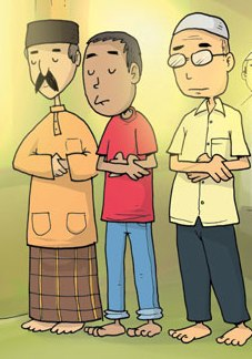 Cara Melaksanakan Sholat Idul fitri/idul adha