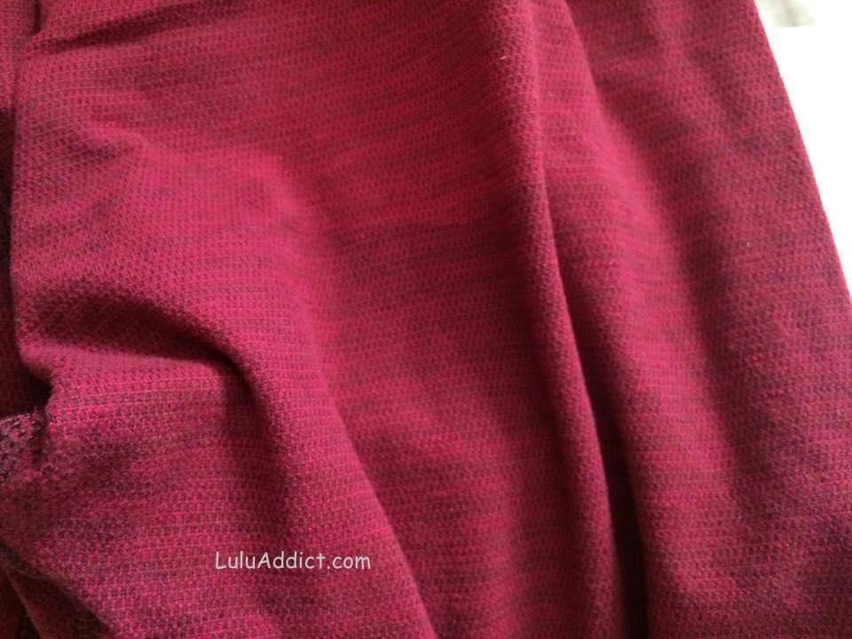 lululemon bumble berry pique wunder-under-pant