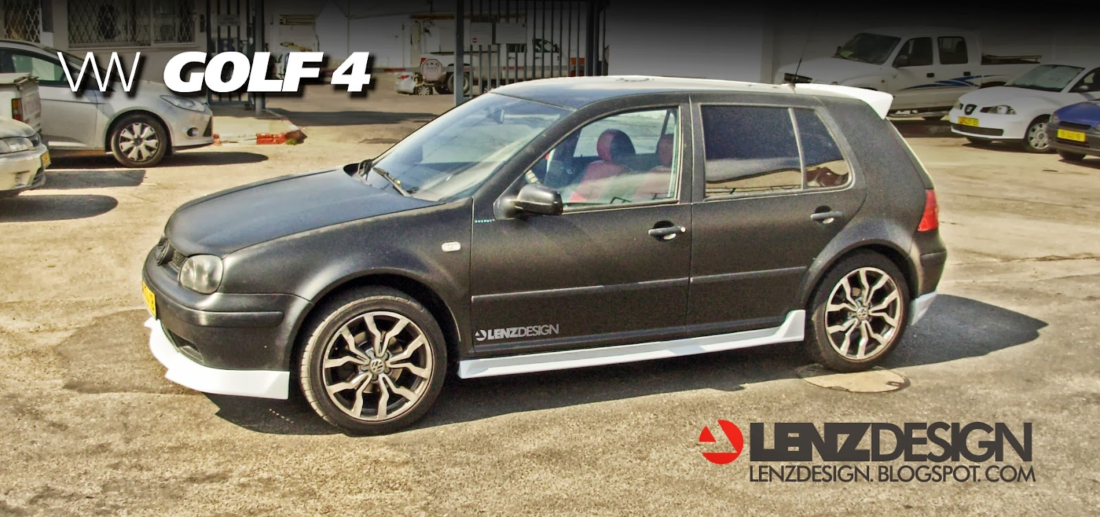 vw golf  tuning lenzdesign auto cars benz
