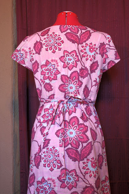 Favorite Things Patterns Prairie Girl Dress in Joel Dewberry Voile Back